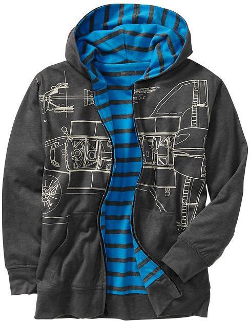 Gap Aerospace graphic hoodie