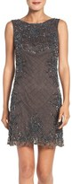Pisarro Nights Women's Embellished Mesh Shift Dress