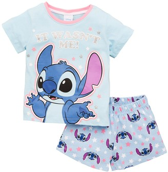 Character Girls Disney Lilo and Stitch Shortie PJs - Blue