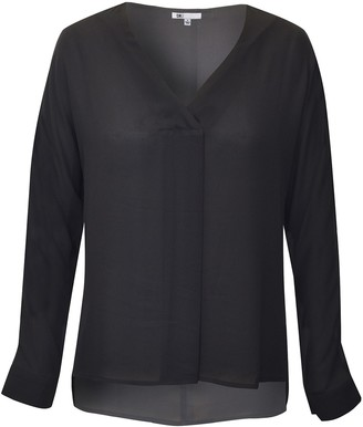 Dr2 By Daniel Rainn Long Dolman Sleeve Blouse (Plus Size)