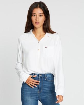 Hollister LS Popover Shirt
