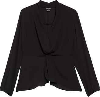 City Chic Gathered Top