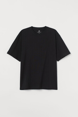 H&M Relaxed Fit T-shirt - Black