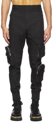 Wooyoungmi Black Zip Cargo Pants