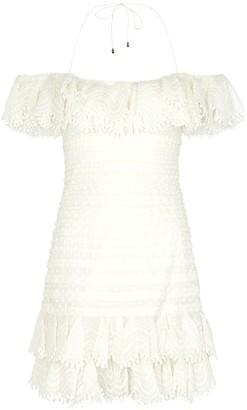 Zimmermann Super Eight linen-blend mini dress