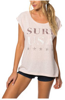 O'Neill Women's Surf USA Short Sleeve Graphic Tee