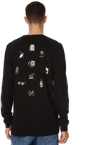 The Critical Slide Society Free Your Mind Ls Mens Tee Black
