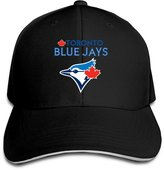 Budontf 2016 Playoff Toronto Blue Jays Logo Men's Flex Baseball Cap