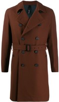 Hevo Savelle belted trench coat