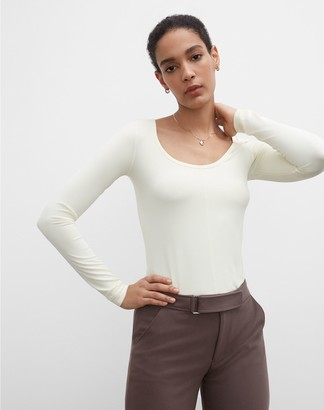 Club Monaco Luxe Ballerina Top