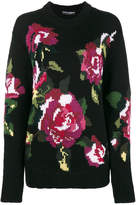 Dolce & Gabbana intarsia wool and cashmere sweater