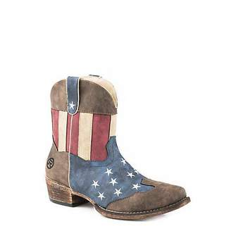 Roper Women's American Patriot Western Boot 6.5 D US