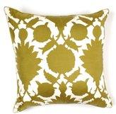 Flock Silk Twill Pillow - 22 X 22