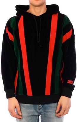 Gucci Striped Hooded Sweatshirt