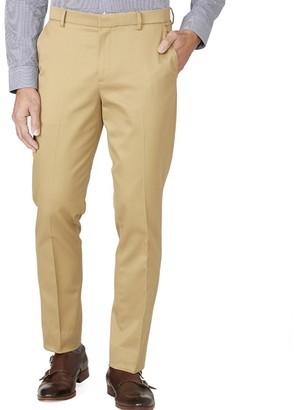 Tie Bar Stretch Cotton Sandstone Pants
