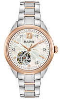 Bulova Women's Diamond Automatic Movement Watch