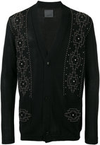 Laneus embellished cardigan - men - Cotton - 46