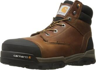 Carhartt Men's Ground Force 6-Inch Brown Waterproof Work Boot - Composite Toe