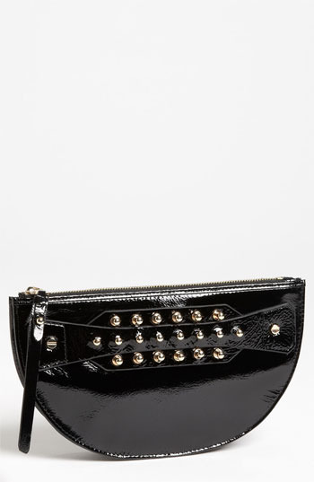 McQ 'Large' Patent Leather Coin Clutch