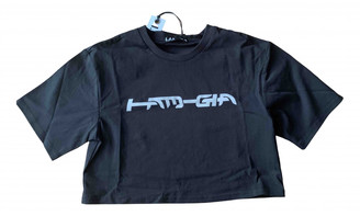 I.AM.GIA Black Cotton Tops
