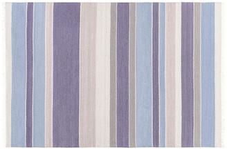 One Kings Lane Maida Rug - Denim/Light Gray - dark blue/denim/medium gray/light gray