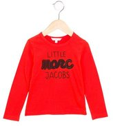 Little Marc Jacobs Girls' Logo Print Embellished Top