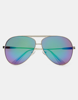 Jeepers Peepers Sol Revo Aviator - Silver
