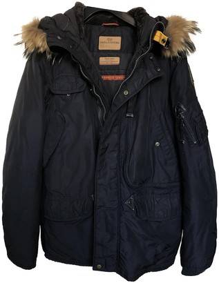 Parajumpers Blue Polyester Jackets & Coats
