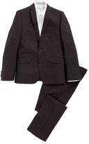 Andrew Marc Boy's Neat Skinny Fit Suit