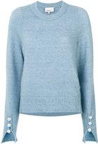 3.1 Phillip Lim classic knitted sweater - women - Polyamide/Spandex/Elastane/Wool/Yak - S