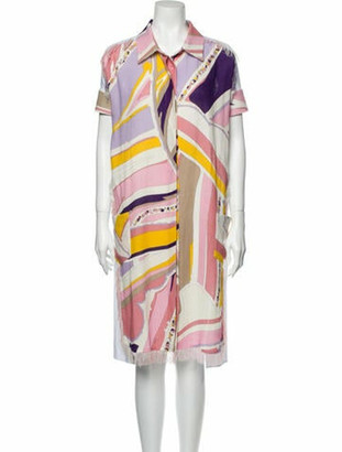 Emilio Pucci 2020 Knee-Length Dress Pink
