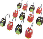 JCPenney Saturday Knight Owls Shower Curtain Hooks