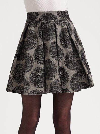 Alice + Olivia High-Waist Skirt