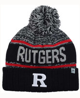 Top of the World Rutgers Scarlet Knights Acid Rain Pom Knit Hat