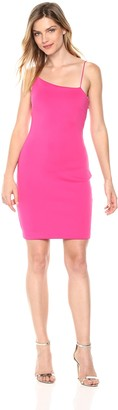 GUESS Women's Sleeveless Shoulder Jenny Dress Dress