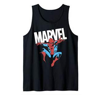 Marvel Spider-Man Shadow Portrait Tank Top