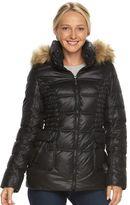 Women's Halitech Hooded Faux-Fur Trim Puffer Jacket