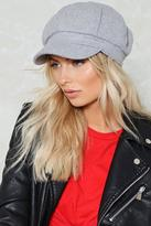 Nasty Gal nastygal Highway to Hell Newsboy Cap
