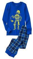 Crazy 8 Robot 2-Piece Pajama Set