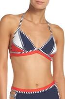 Tommy Hilfiger Women's Triangle Bikini Top