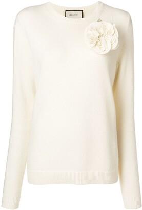 Gucci corsage sweater