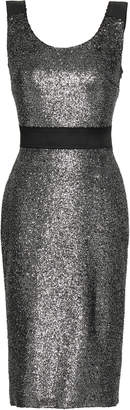 Moschino Metallic Coated Boucle Dress