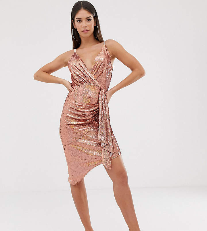 e6484adb697b8 Tfnc Sequin Dress - ShopStyle UK