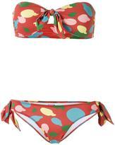 Isolda polka dot bikini set