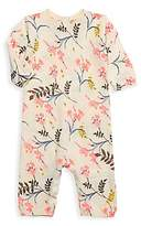 Bonpoint Baby Girl's Floral-Print Knit One-Piece