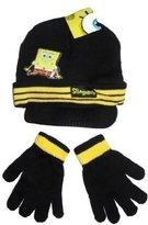 SpongeBob Squarepants Childrens/Kids Boys Winter Hat And Gloves Set