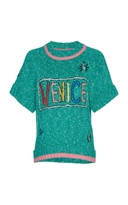 Mira Mikati Venice Beach Cashmere Mix Knitted Top