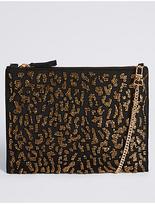 M&S Collection Embellished Clutch Bag