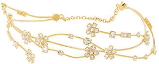 Panconesi Gold Crystal Kismet Collar Necklace