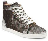 Christian Louboutin Classique Bip Bip Sequined Sneakers